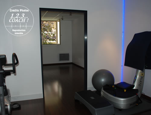 Salle Power Plate du studio Power Plate - Pilates Gif sur yvette 123 Coach (91-Essonne)